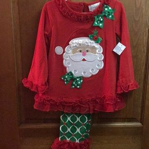 Emily Rose Santa Christmas Outfit 4